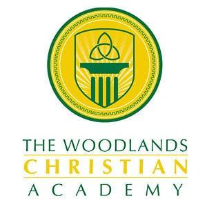 the woodlands christian logo